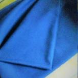 отрез новой  льняной ткани синего  цвета,  длина 1м50см x ширина 90см,, Казань