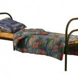 Кровати металлические от производителя економ для хостелов, Казань