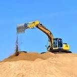 Продажа и доставка строительного песка., Казань