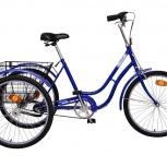 Велосипед Аист трехколесный для взрослых грузовой (Минский велозавод), Казань