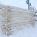 Срубы на бани сосновые в наличии готовые, Казань