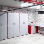 Мебель для гаража в комплекте (верстак, шкафы), Казань