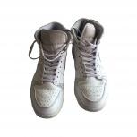 Белые высокие кроссовки Nike Air Jordan 1 Mid, Казань