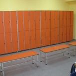 Шкафчик для раздевалок из Hpl-пластика, Казань