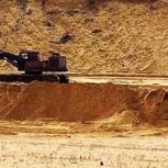 Карьерный песок с доставкой 25 тонн, Казань
